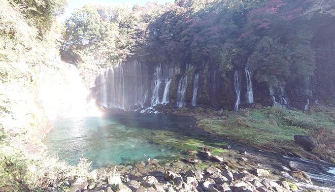 白糸の滝【Googleストリートビュー】